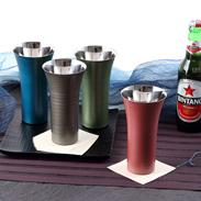 「匠の技術」の融合 漆磨カップ シングルLカップ
