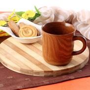 縁起が良いといわれる天然木で作ったマグカップ・幸せの木 槐 マグカップ(大) 中谷兄弟商会・石川県