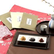 京都下鴨ちりめん山椒・京佃煮 すぐり 京料理から生まれたこだわりの手作りの味 ちりめん山椒・昆布・佃煮セット