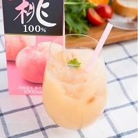 誠 山梨県産 桃100%ジュース 3本セット〔1000ml×3〕