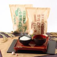 ササニシキ&ひとめぼれ  特別栽培米食べくらべセット8kg