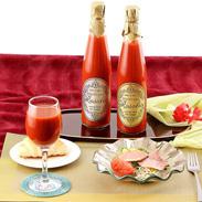 こだわりのトマトだけを使った 無添加ジュース  ロゾリオ ゴールド&シルバー ロゾリオ(株式会社タックルファーム) 山形県