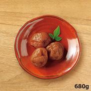 JAS有機栽培南高梅 蔵出し白干梅 〔680g(L〜2L粒)、塩分約19%〕