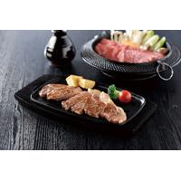 黒毛和牛ステーキ・すき焼きセット〔ロース肉(ステーキ用)150g×3、モモ肉(すき焼き用)570g、肩肉(すき焼き用)470g〕