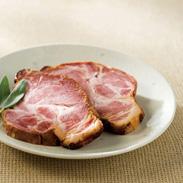 マイスターベルク 焼豚ステーキ 〔肩ロース肉使用、100g×3枚〕