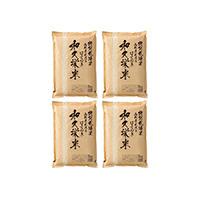 特別栽培米はえぬき「和久栄米」〔特別栽培米はえぬき2�s×4〕