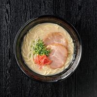 博多とんこつラーメン〔半生麺90g・豚骨スープ30g×各8〕