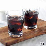 MAJOリキッドコーヒー無糖 7本セット〔1L×7本〕