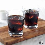 MAJOリキッドコーヒー無糖 8本セット〔1L×8本〕
