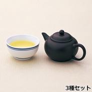 台湾烏龍茶3種セット〔香檳烏龍茶・文山包種茶各25g、凍頂烏龍茶80g〕