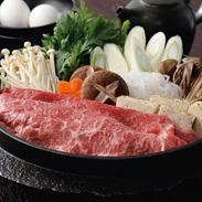 近江牛 モモ肉・バラ肉(すき焼き用)〔モモ肉・バラ肉300g〕