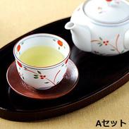 八女茶セットA 〔特上煎茶×2、玉露×1 各80g〕