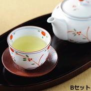 八女茶セットB 〔玉露×2、特上煎茶×3 各80g〕