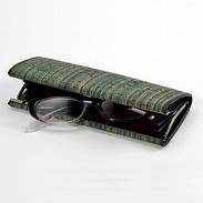 結城紬 眼鏡ケース