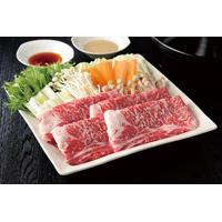 神戸牛すき焼き・しゃぶしゃぶ用〔リブロース肉1�s〕