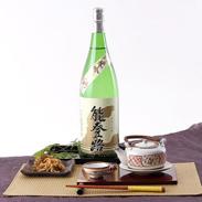硬水仕込みのしっかりとした味わい  能登路 純吟 1.8L �葛v世酒造店・石川県