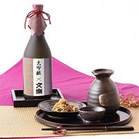 最高級酒米「山田錦」をじっくり醸した  文楽 大吟醸 720ml