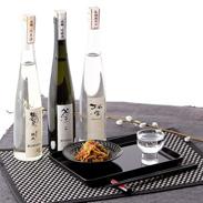 古酒を含む、味わいの異なる3種のお酒  文楽 雅セット
