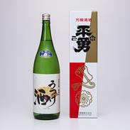 織田信長生誕の地とされる愛知県愛西市の酒蔵が造り上げた うつけ酒 特別純米酒 1.8L 渡辺酒造株式会社・愛知県