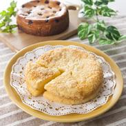 ワインに良く合うチーズケーキ詰め合せ シェフ・アサヤマ 兵庫県 人気の「エダムチーズケーキ」と「ブルーベリーチーズケーキ」のセット。