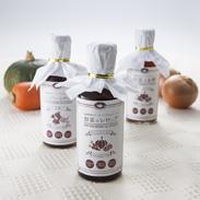 フィトケミカルシリーズ3本セット いわき遠野らぱん 福島県 無添加・無農薬野菜のエキスたっぷり、お酢、シロップの詰め合せ。