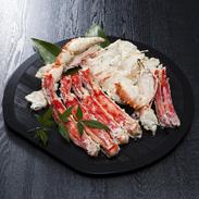 ボイルタラバガニ ハーフポーションカット1kg 株式会社TMフーズ 福岡県 ボイルしたタラバガニの殻を上半分カットして食べやすくしました。