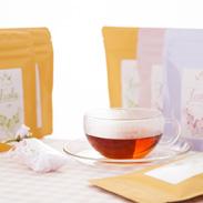 Teala happy gift 株式会社プリズム 神奈川県 紅茶専門店ティアラがセレクトした香り豊かなティーバッグのセットです。