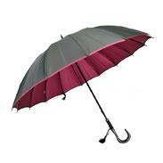 甲州織両面傘「かさね」女性用長傘16本骨 株式会社小宮商店