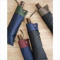 甲州織「橘」 雨晴兼用 折り畳み傘 〔60cm 約400g〕 傘 メンズファッション 東京 小宮商店