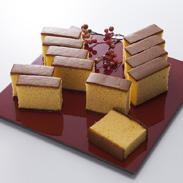 五三焼カステラ+五三焼(稀少糖)2本入り 株式会社アクセスコーポレーション 長崎県 2つの味の最高級カステラを食べ比べ。