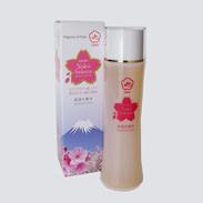 陽光ローション(保湿化粧水) 遠赤青汁株式会社 愛媛県 陽光桜のエキス配合の保湿化粧水。敏感肌の方にもどうぞ