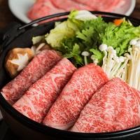 鳥取県産和牛ロース高級すき焼き用牛肉〔500g〕