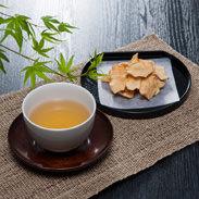 きくいも茶・チップス詰合せ 耕せファーム 岡山県 「天然のインスリン」と呼ばれる健康成分を豊富に含むきくいも茶とチップス