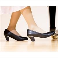 ピアノシューズ 本革 ブラック 数量限定 〔ヒール5cm〕 ピアノ演奏用の靴 東京 リトルピアニスト