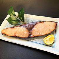 天然 塩鰤 〔120g×7〕 ぶり 魚介類 冷凍 富山 鈴香食品