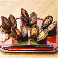 万葉味紀行 昆布巻き 〔鮭×1・にしん×1・たら子×1・ぶり×2〕 惣菜 常温 富山 鈴香食品