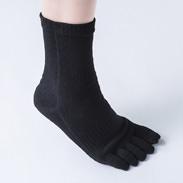 あなたを支える靴下2足セット 株式会社松村商店 和歌山県 歩くことを極めたフットケアトレーナーがプロデュースした5本指ソックス