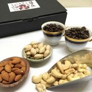那須三昧 自家焙煎珈琲豆那須ブレンド3種&ヘルシーナッツセット おひさま堂 栃木県