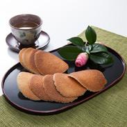 松皮煎餅 有限会社大久 茨城県 茨城・境名物。先代から受け継いだ製法と想いを、炭焼きの風味そのまま今に伝える