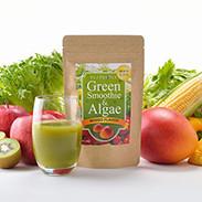 グリーンスムージー&アルジー スターターセット(シェーカー付) スメーブジャパン株式会社 宮城県 飲みやすいマンゴー味です