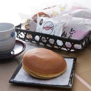 特選どら焼き、バターどら焼き、皮むきこしあんもなか 有限会社くら屋菓子舗 北海道 地元八雲産素材の和菓子セット