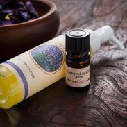 ラベンダー(ラバンディン系)精油とアロマトリートメントオイルのセット ラベンダーパーク多可 兵庫県 心身を癒す爽やかな香り