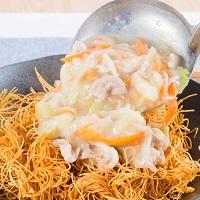 長崎 こじま製麺 冷凍 具材付きプレーンちゃんぽん 皿うどん〔ちゃんぽん450g×2食・皿うどん350g×2食〕