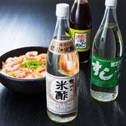 天龍特選セット 天龍 和歌山県 創業明治2年、紀州・有田の老舗醸造所が独自の醸造法にこだわって仕上げたお酢のセット