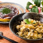 寄島かきめし・かきおこのみセット まからずやストアー 岡山県 素材の旨みで炊き上げた釜めしと濃厚な旨みのお好み焼き