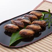 うなぎのせいろにぎり すし竹 福岡県 ふっくら肉厚の「うなぎのせいろ蒸し」を柳川の寿司職人がにぎりに仕上げた銘品