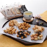 おかき詰合せ 有限会社宮本製菓 石川県 無添加・手造り。能登の良質なもち米を石臼でついて焼き上げました