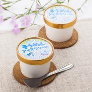 そうめんアイスクリーム詰め合わせ(12個入) のうち製麺 長崎県 新食感!クリーミーなアイスクリームの中にもちもち麺