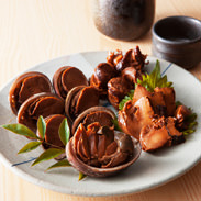 鶴見の磯物セット 有限会社サングループ浜田 大分県 磯の香りたっぷり。大分佐伯産の「さざえ」と「とこぶし」をじっくり煮込みました