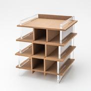 小物スタンド 株式会社アートストック 佐賀県 デスク周りの整理に便利。木の温もりも感じるオリジナルデザインの小物置き